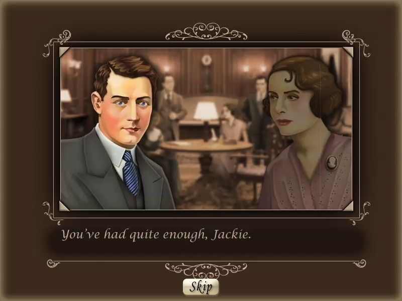 Agatha Christie: Death on the Nile Macintosh cutscene