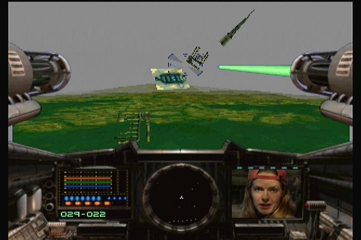 Shock Wave 2: Beyond the Gate 3DO Your crew updates you via video.