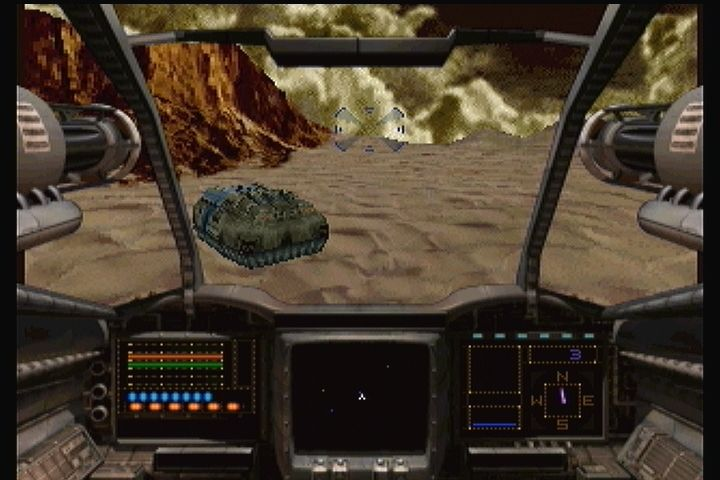 Shock Wave 2: Beyond the Gate 3DO There's your crew in the vulnerable APC.