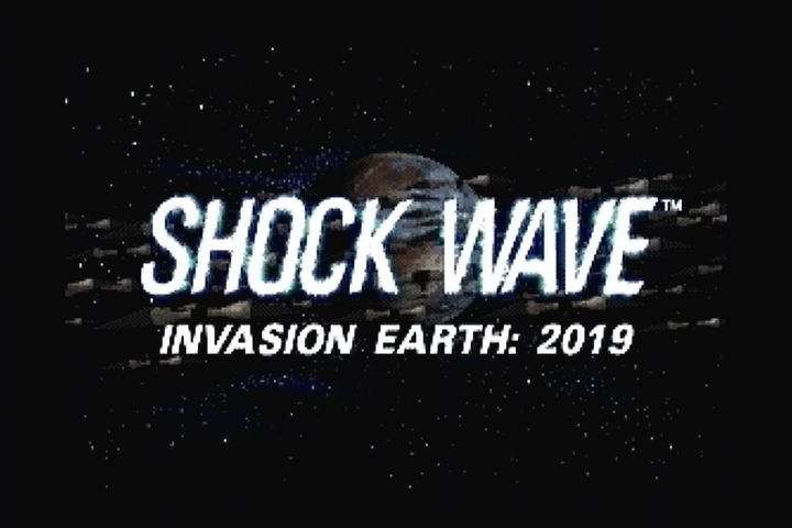 Shock Wave 3DO Title screen.