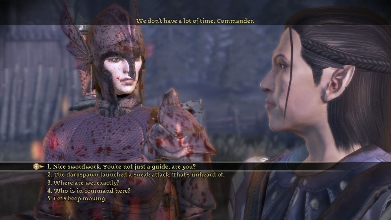 Dragon Age: Origins - Awakening PlayStation 3 While your character may be imported, your party members will all be new.