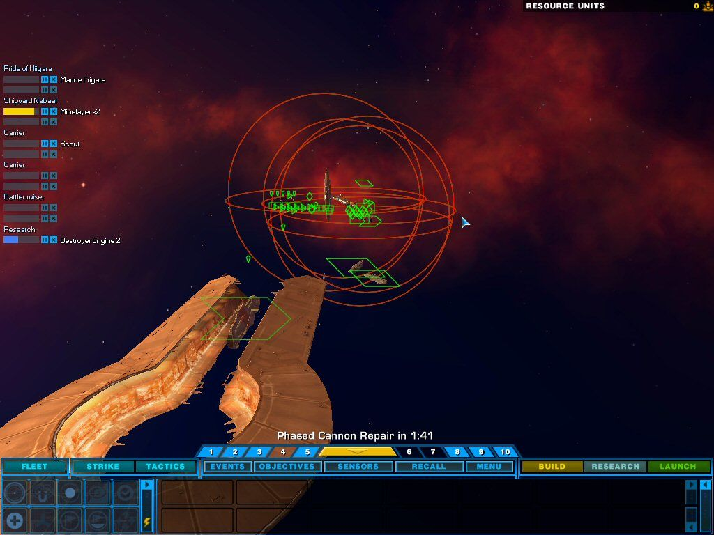 Homeworld 2 Windows Bentus repairing your super capital ship