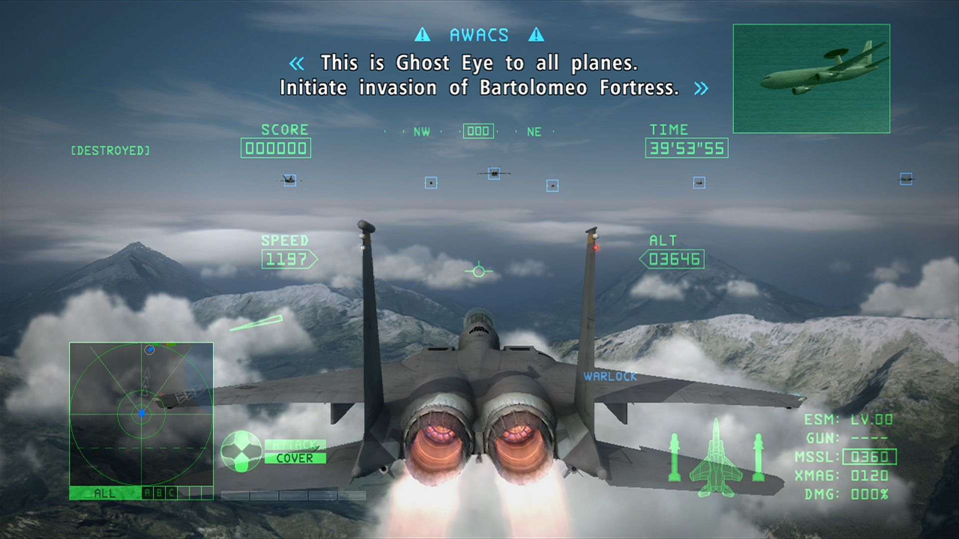Ace Combat 6: Fires of Liberation Screenshots for Xbox 360