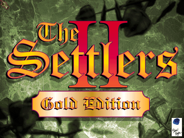 The Settlers II (Gold Edition) DOS Revamped splash screen