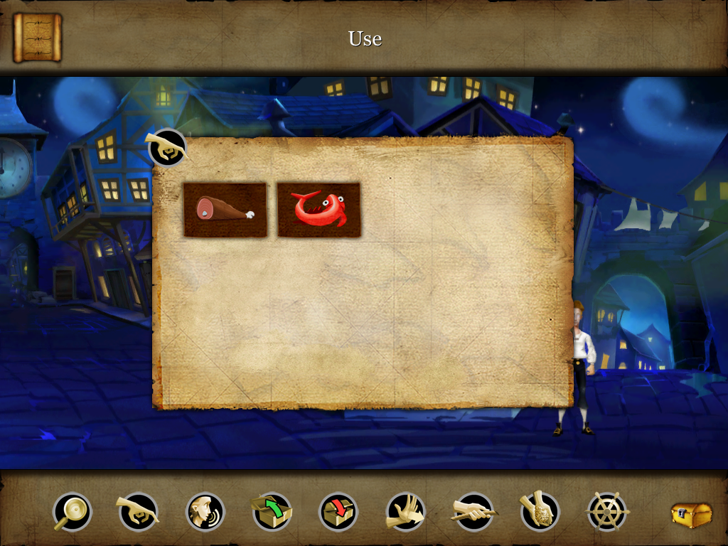 The Secret of Monkey Island: Special Edition iPad Brand new inventory screen