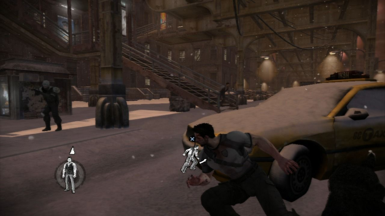 Dead to Rights: Retribution PlayStation 3 The enemy has taken over the police station, and Jack is out of bullets to add to the predicament.
