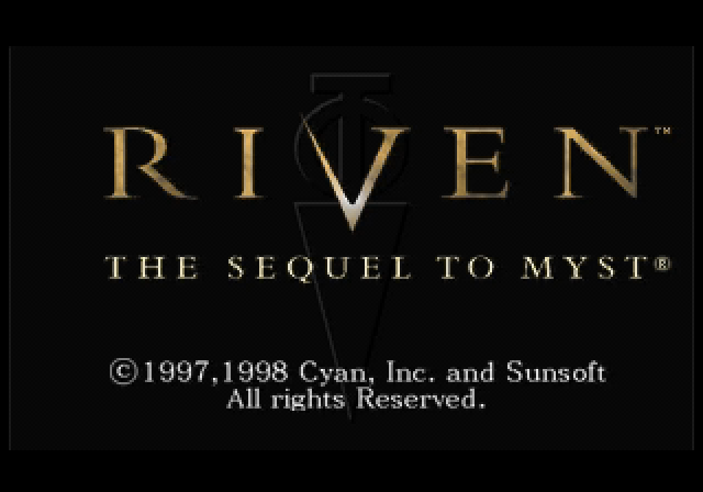 Riven: The Sequel to Myst SEGA Saturn Title