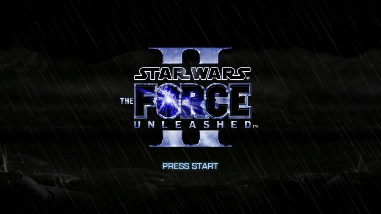 Star Wars: The Force Unleashed II PlayStation 3 Main title.