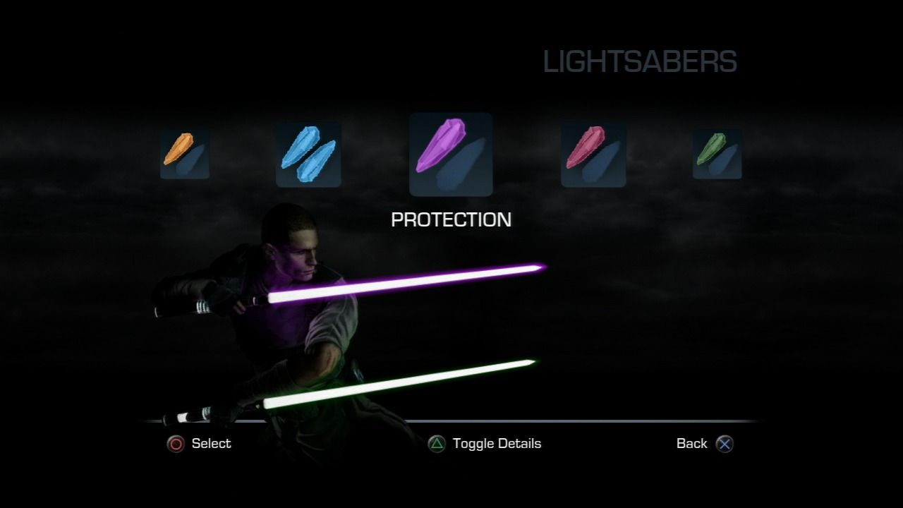 star wars the force unleashed 2 blue lightsaber crystal locations