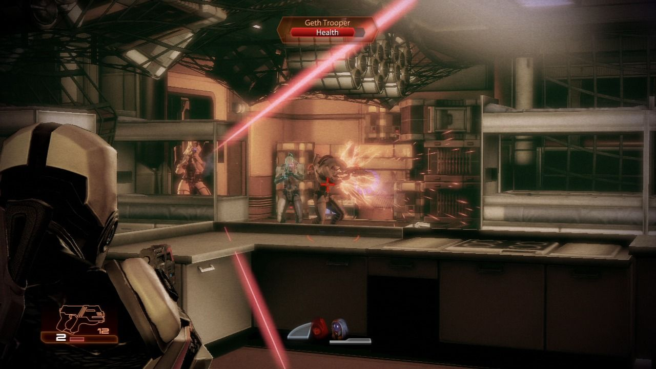 Mass Effect 2 PlayStation 3 Mass Effect 2 - Finding out how Geth got active aboard one of the Quarians' vessels