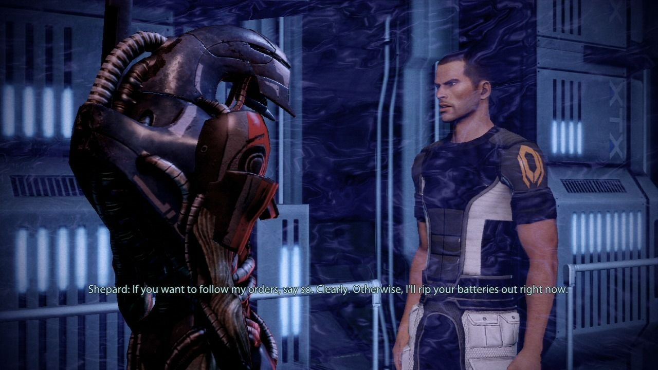 Mass Effect 2 PlayStation 3 Mass Effect 2 - You can be gentle, or you can cut to the point