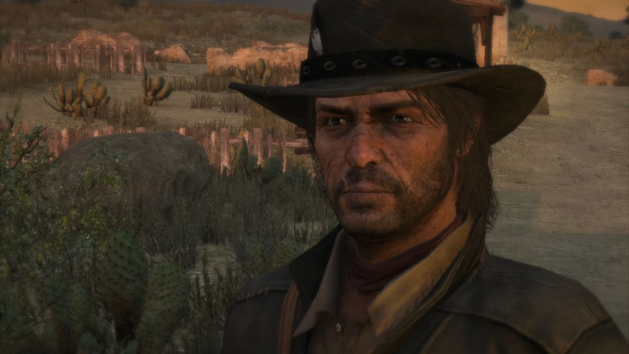 Red Dead Redemption PlayStation 3 Main protagonist, up close and personal.