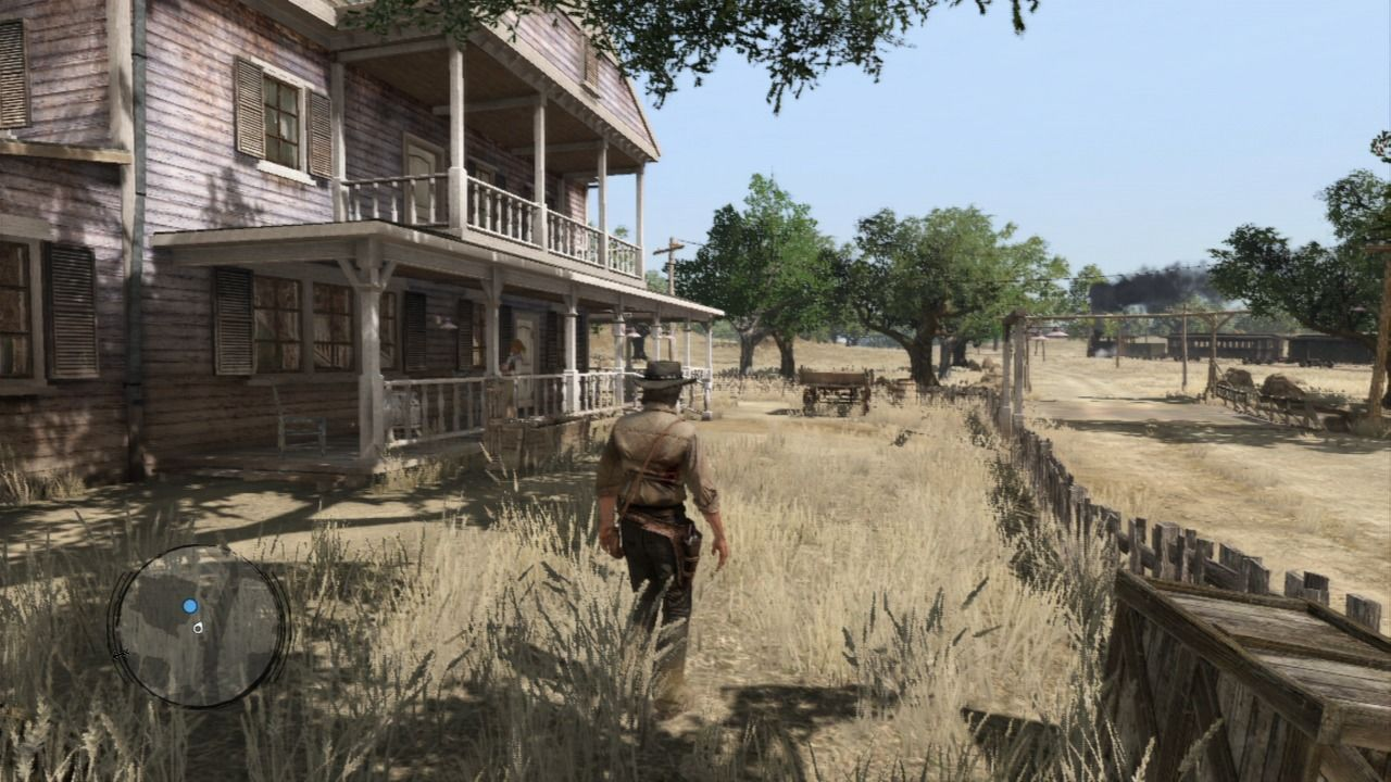Red Dead Redemption PlayStation 3 Exploring MacFarlane's ranch, a home of your savior who found you shot down and left to die.