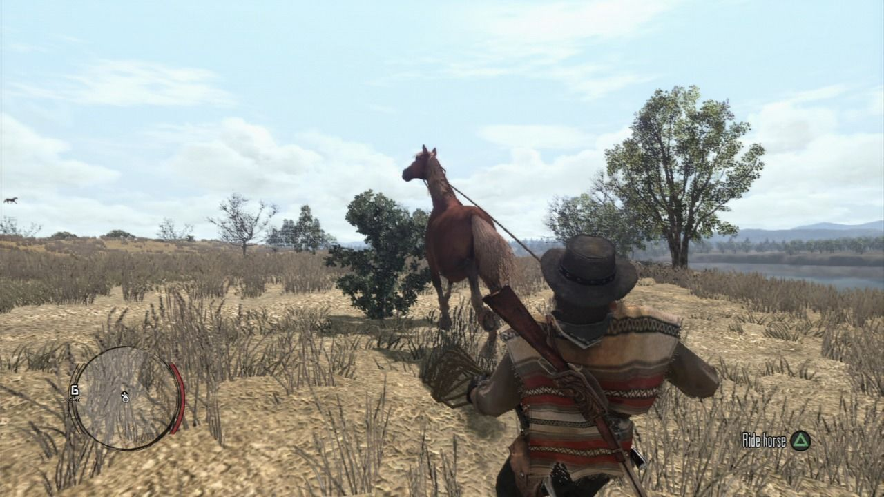 Red Dead Redemption PlayStation 3 You can catch wild horses and try to tame them.