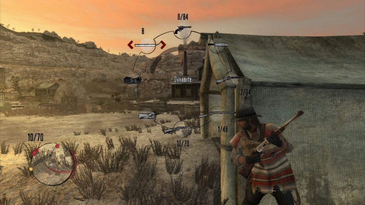 Red Dead Redemption PlayStation 3 Use covers in combat and switch to more appropriate weapon.