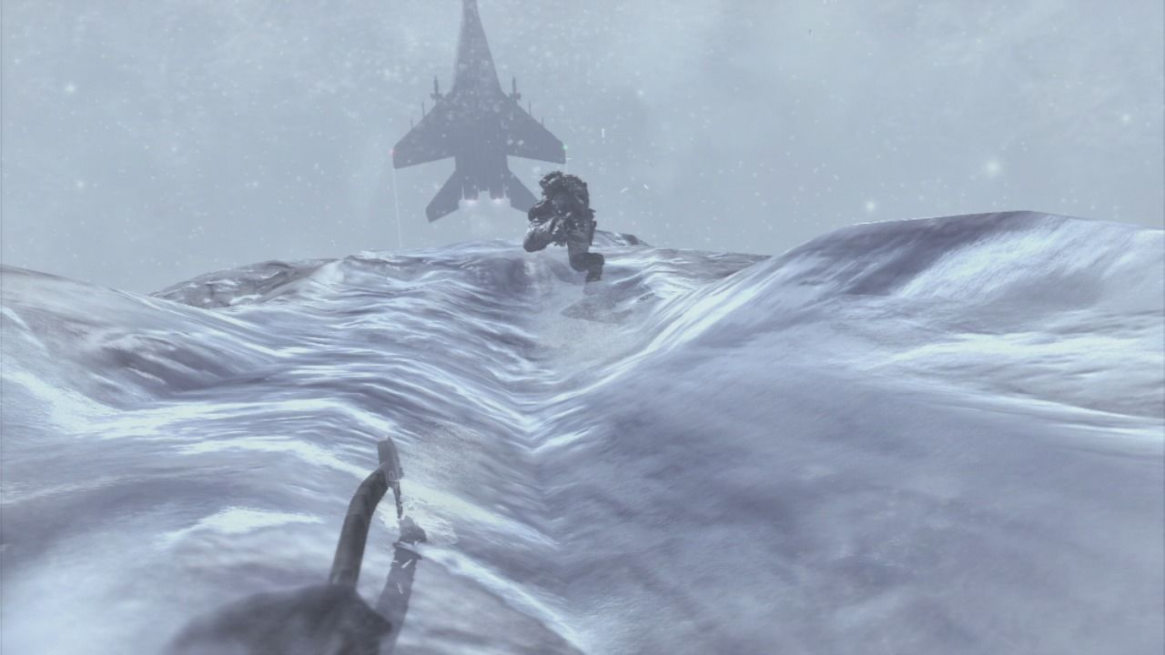 Call of Duty: Modern Warfare 2 PlayStation 3 You better climb fast of the ice will break.