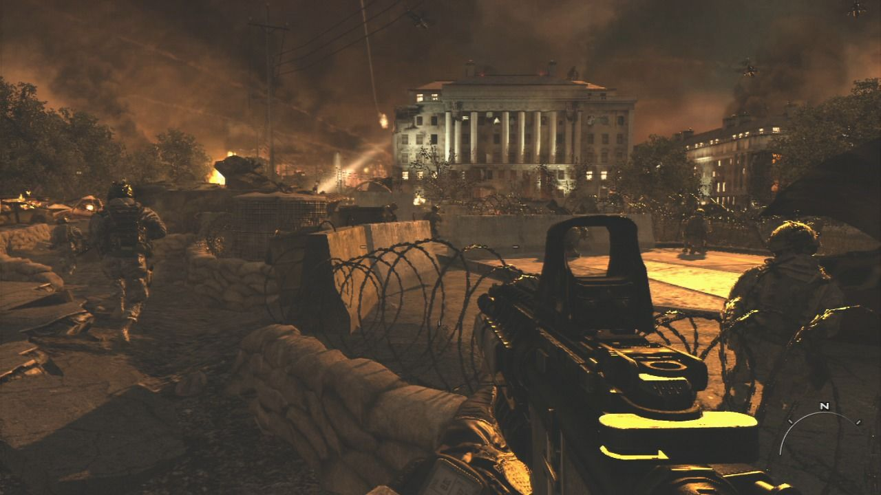 Call of Duty: Modern Warfare 2 PlayStation 3 Washington D.C. has turned into a war zone.