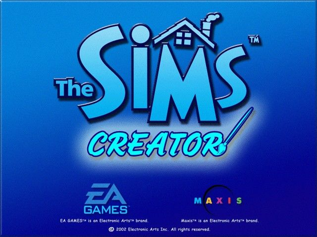 The Sims: Complete Collection Windows The load screen of the Sims Creator.