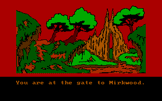 The Hobbit PC Booter Gate to Mirkwood