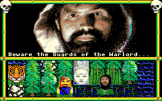 Moebius: The Orb of Celestial Harmony Amiga Beware the guards of the Warlord