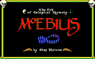 Moebius: The Orb of Celestial Harmony Amiga Moebius title screen