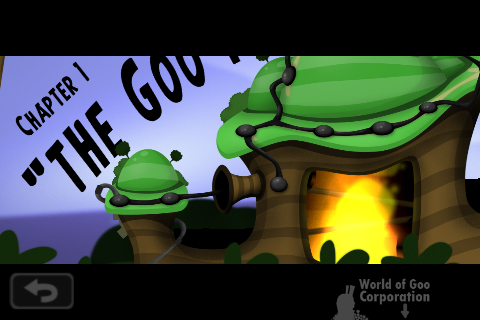World of Goo iPhone Level selector