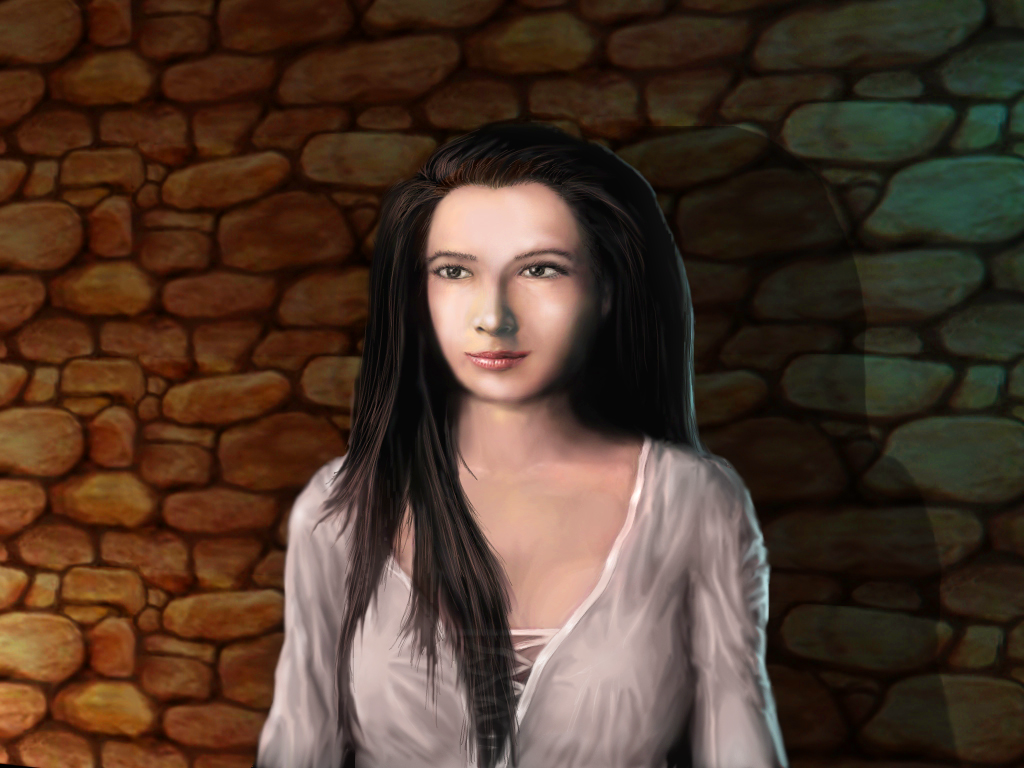 Defender of the Crown: Digitally Remastered Collector's Edition Windows Saxon lady Katherine.