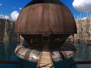Riven: The Sequel to Myst Windows Mobile Map room on plateau island