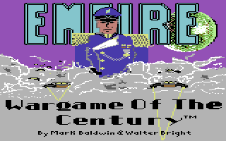 Empire: Wargame of the Century Commodore 64 Title screen