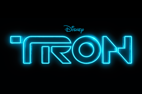 TRON iPhone Title