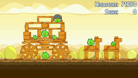 Angry Birds PSP Chariot ;)