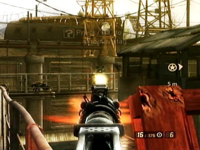 Resistance 2 PlayStation 3 Pickup enemy weapon and firing it!