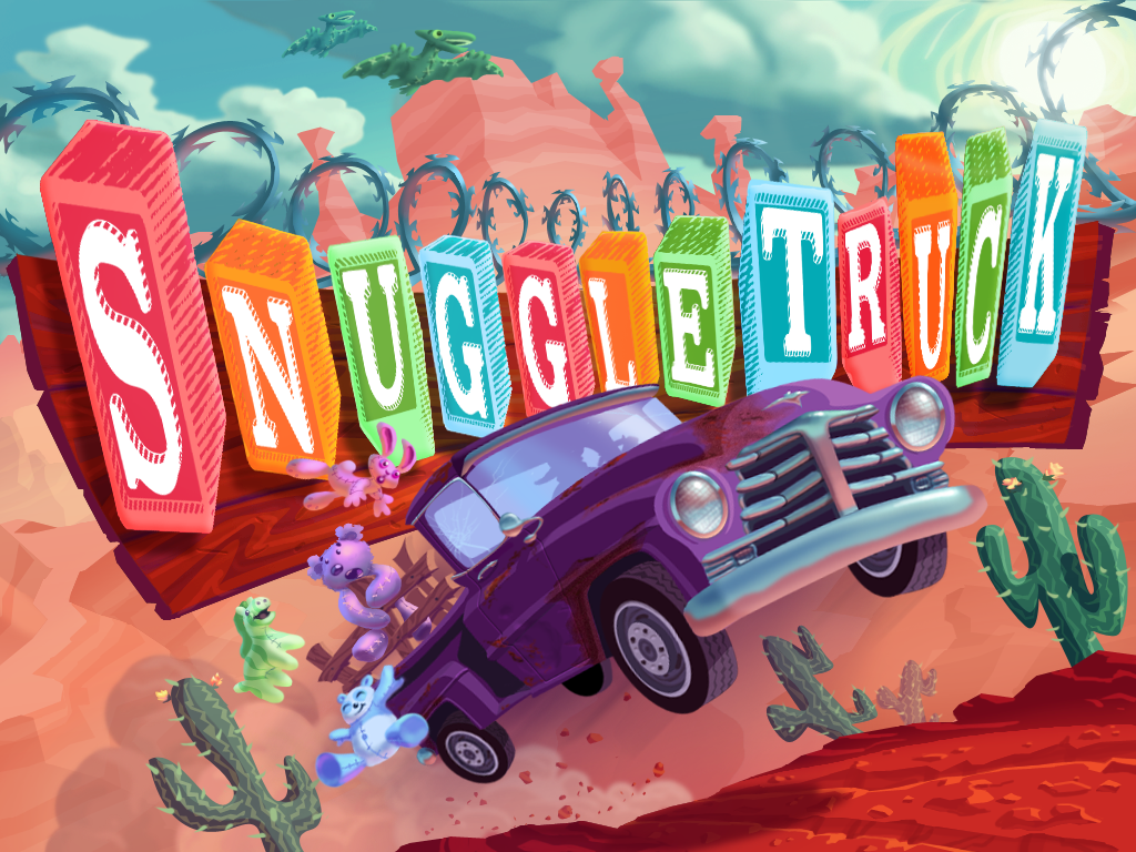 Snuggle Truck iPad Splash screen for Snuggle Truck