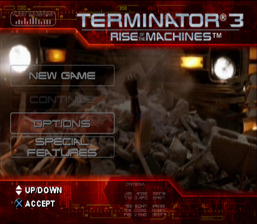 Terminator 3: Rise Of The Machines Screenshots For