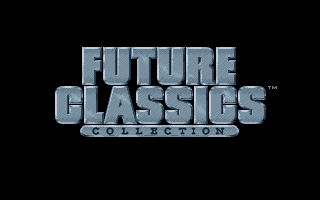 Future Classics Collection Amiga Title screen.