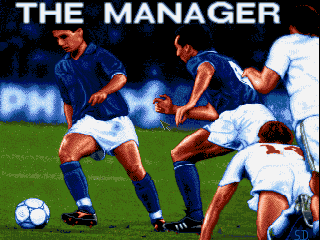 The Manager DOS Title screen