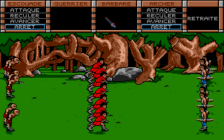 The Ancient Art of War Atari ST My archers wont stand a chance