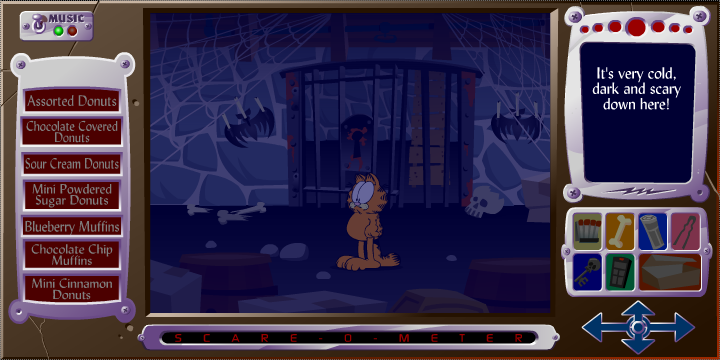 Garfield S Scary Scavenger Hunt Ii Donuts Of Doom Screenshots For Browser Mobygames