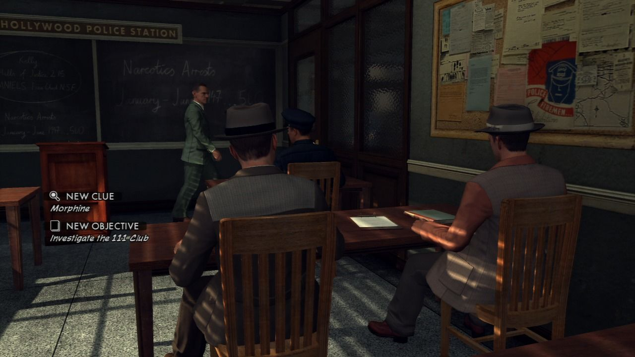 L.A. Noire PlayStation 3 Every detective case starts with a briefing.