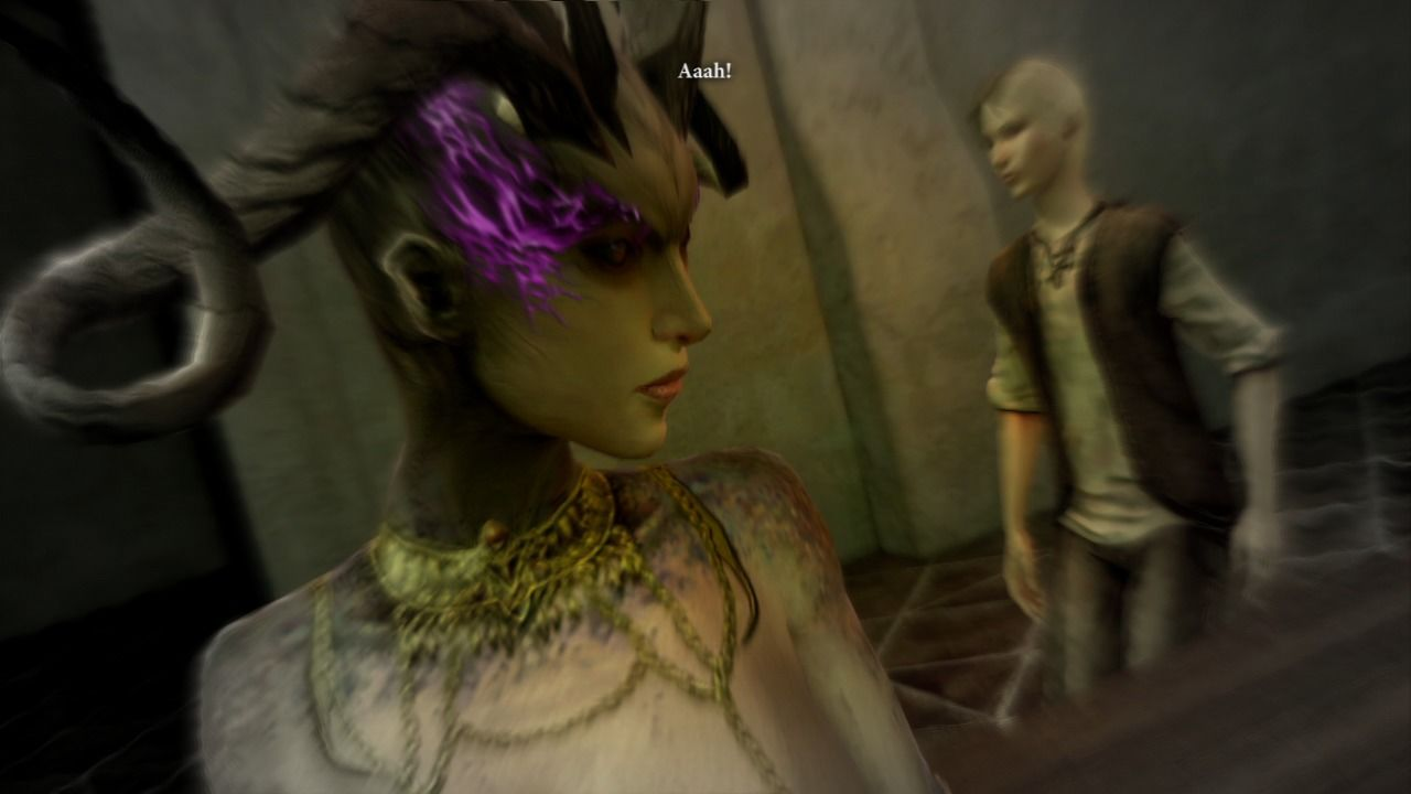 Dragon Age II PlayStation 3 Messing up with succubah demon's plans.