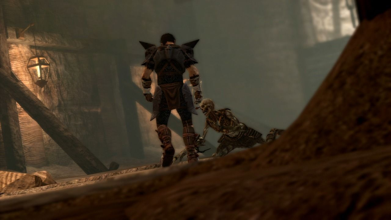 Dragon Age II PlayStation 3 Skeletons and undead are no match for Hawke's anger.
