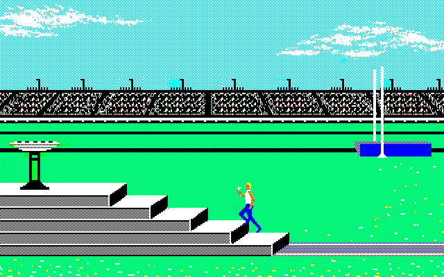 Summer Games PC-88 Opening ceremony