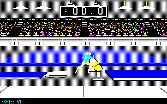 "Summer Games PC-88 As Spike would say: ""Look, pet, you were supposed to JUMP over the bloody vault!!.."""