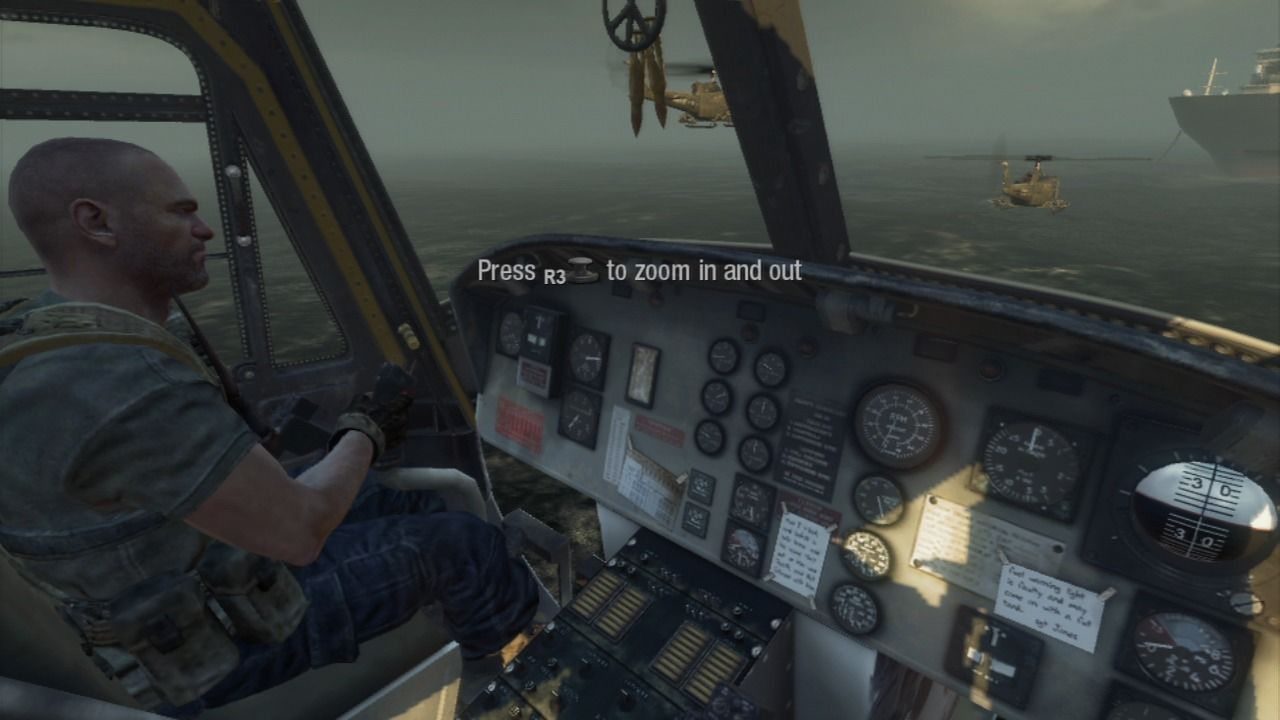 Call of Duty: Black Ops PlayStation 3 Memorize the controls and attach the ship.