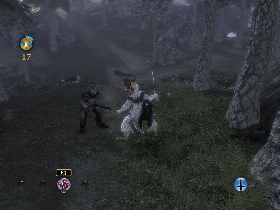 Fable III Windows Fighting some bandits