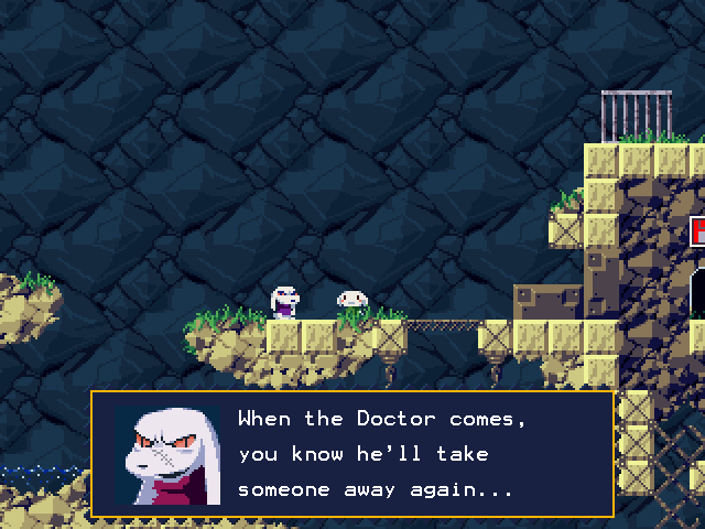 Cave Story Linux A village is terrorized by an evil scientist.