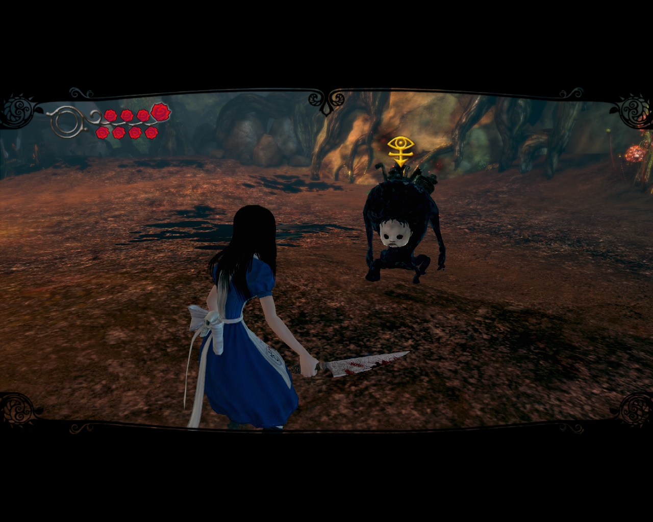 Alice: Madness Returns Windows ...and an enemy to try it on