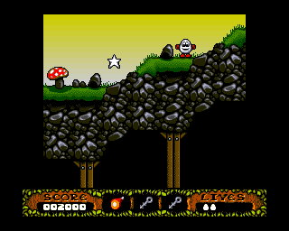 The Fantastic Adventures of Dizzy Amiga Country side. (AGA)