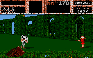 Weird Dreams Atari ST If you do not want to play with the little girl,...
