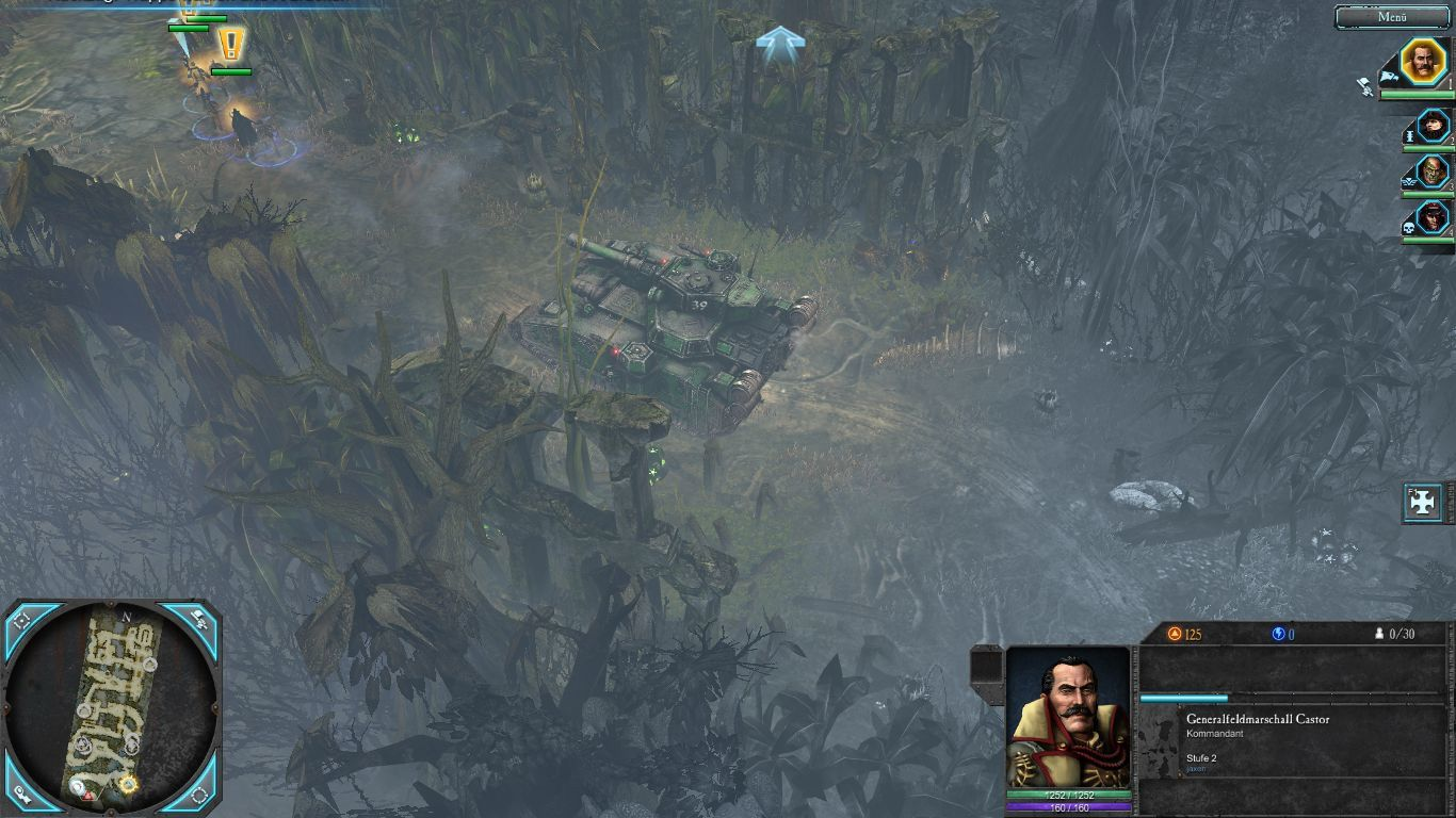 Warhammer 40,000: Dawn of War II - Retribution Windows Great a super heavy tank and no anti-tank weapons.